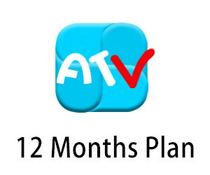 atv iptv 12month plan