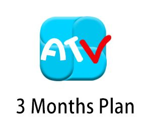 atv iptv 3month plan