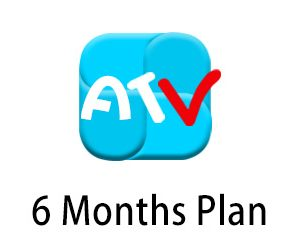atv iptv 6month plan