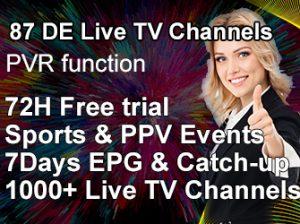 DE live channels