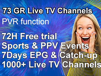GR live channels