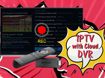 how use iptv record